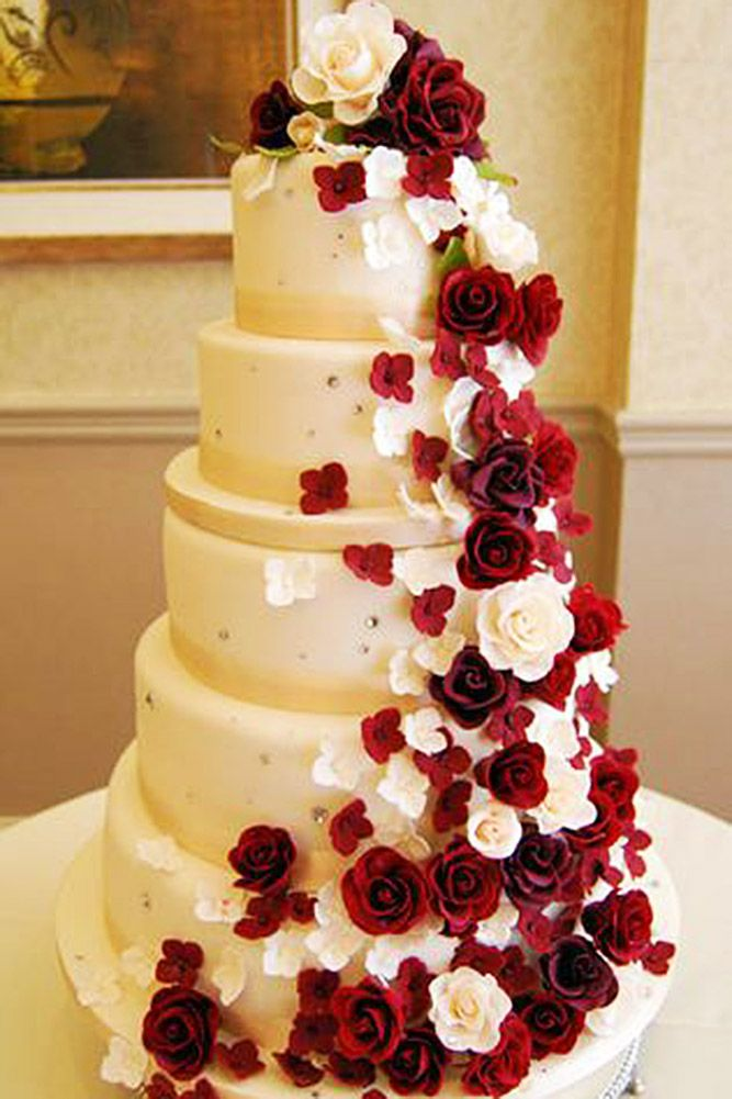 30 Beautiful Wedding Cakes The Best From Pinterest in 2018 | wedding ...