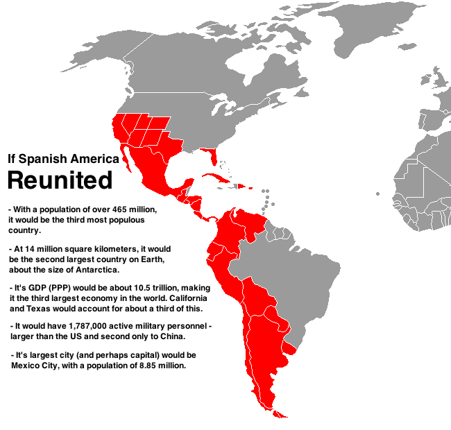 33 maps that will show you the world in new ways Latin america