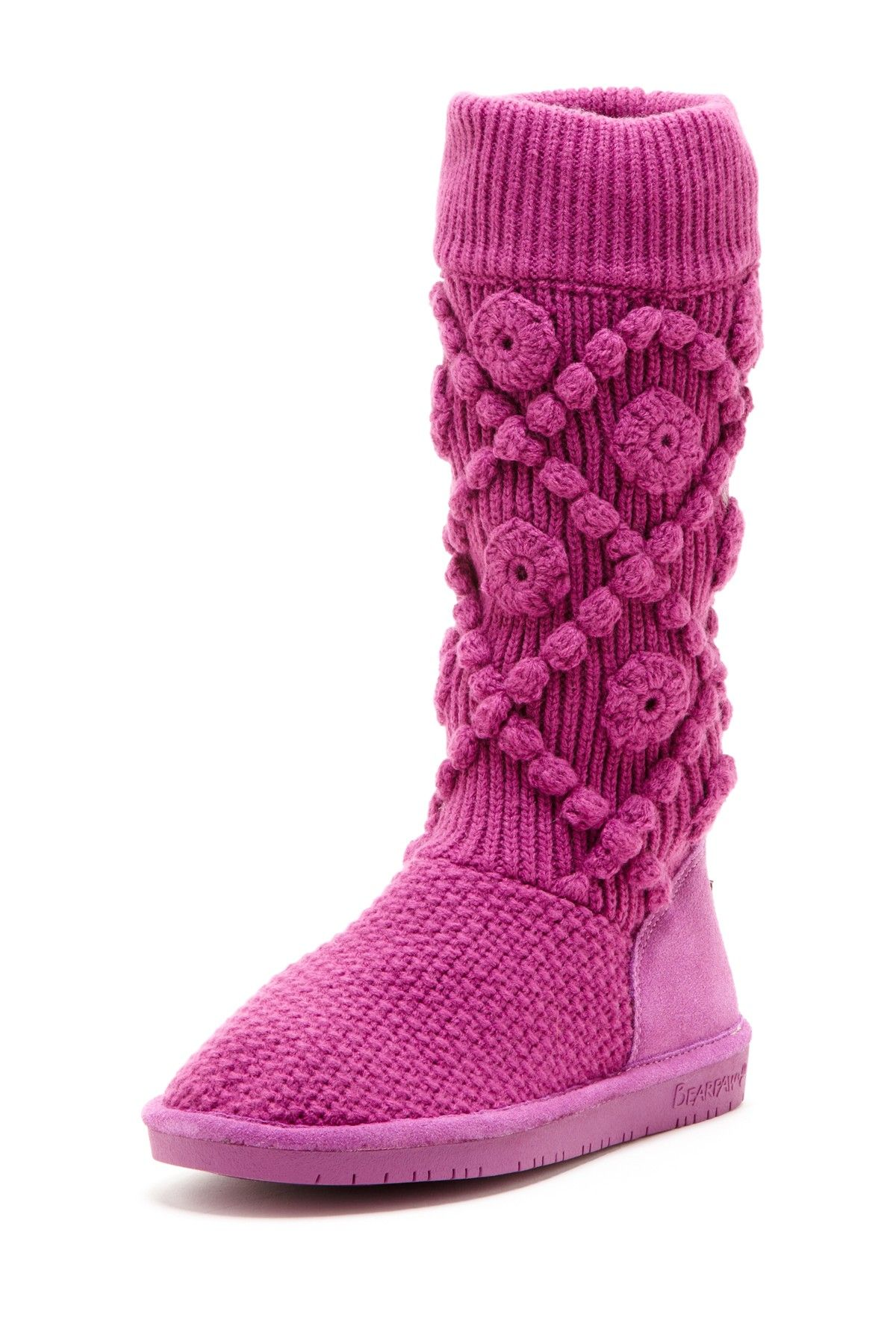 Bearpaw annalisa boot petunia purple footwear boots slippers