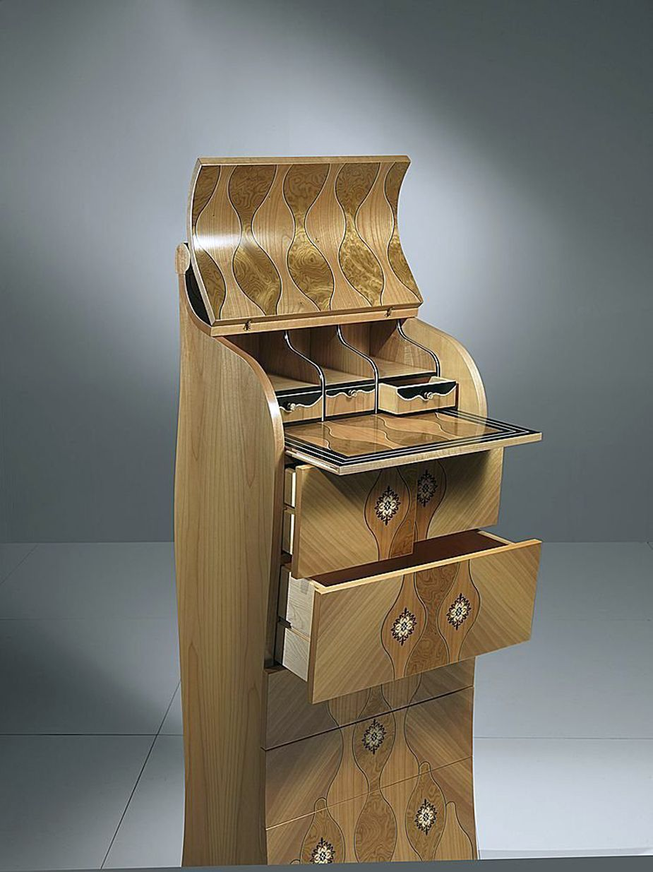 Wood Chest Of Drawers For Classic Bedroom Design From