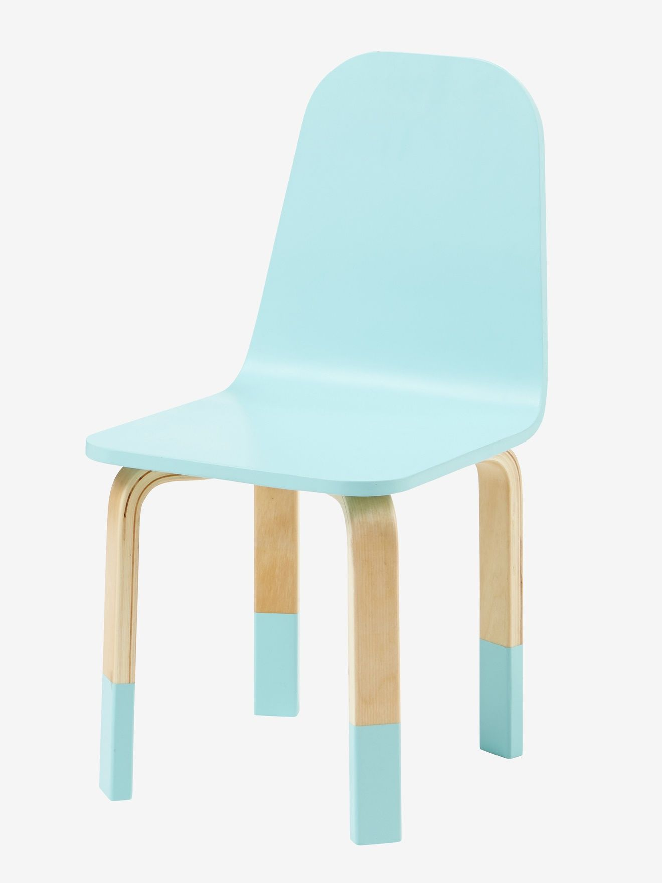 Chaise Pour Table De Jeu Play Bleu Bois Vertbaudet Solde A 38 Mobilier De Salon Table De Jeux Chaise Enfant