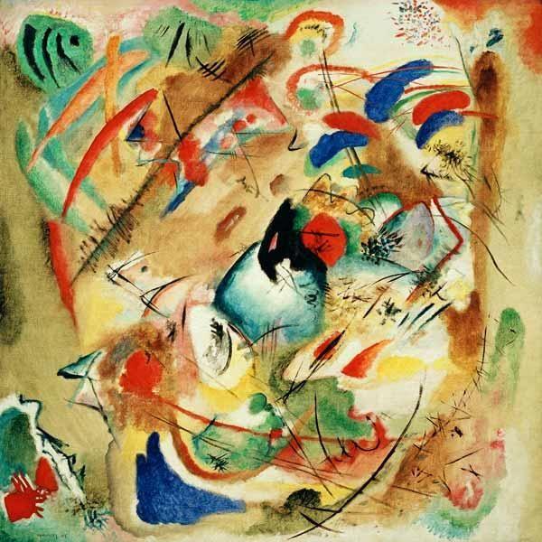 Wassily Kandinsky Dreamy Improvisation Kandinsky Peindre Un