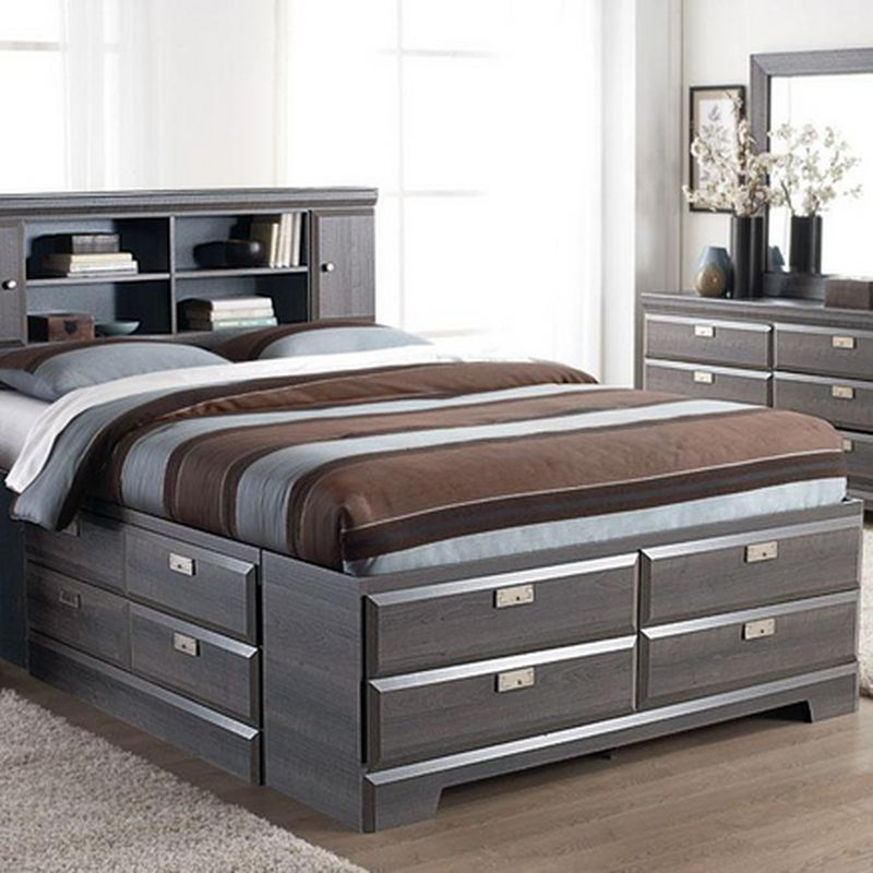 Cypres\' Queen Storage Bed - Sears | Sears Canada | Camas | Pinterest ...