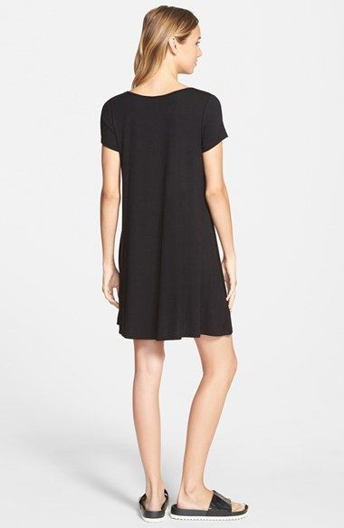 Free shipping and returns on Socialite Knit Swing Dress at Nordstrom.com. A classic stretch jersey T-shirt dress is updated with a swingy hem and cute cap sleeves.