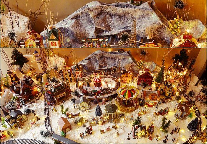Diy Village Mountain Diy Village Mountain Christmas Village Accessories