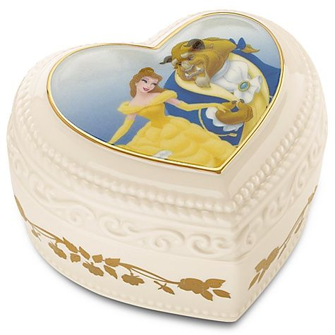 Beauty and the Beast Treasure Box by Lenox