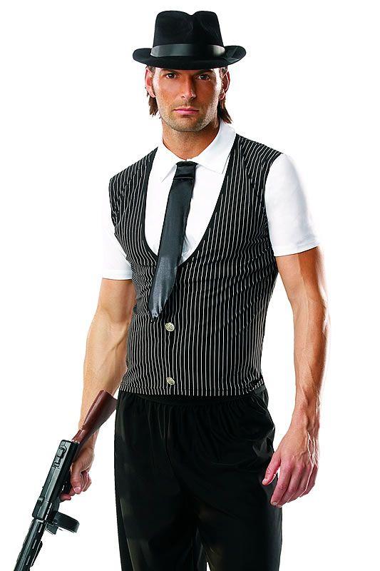 Roaring 20/'s Gangster Tough Tony Adult Costume