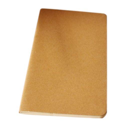 Notebook blank notepad book vintage soft copybook daily memos - blank memo
