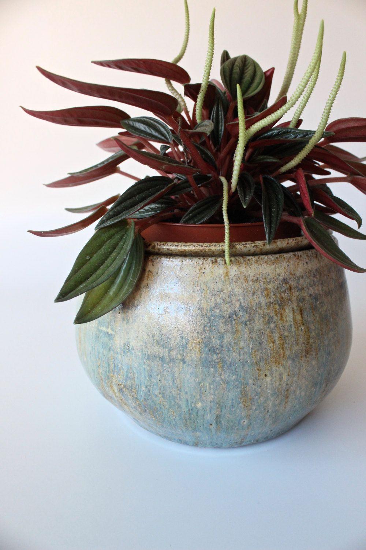 Handmade ceramic planterafrican violet planter self