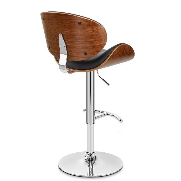 barhocker chrom theo schwarz barhocker pinterest barhocker und einrichtung. Black Bedroom Furniture Sets. Home Design Ideas