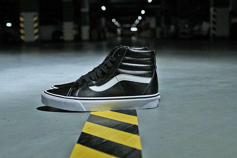 Vans Classic SK8-Hi Black White Skateboard Shoe VN0A2XSBNQR Vans For Sale   Vans baf0411a7
