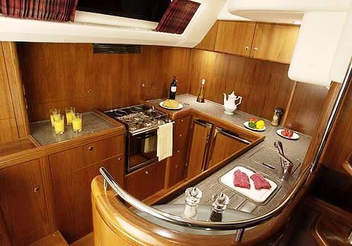 sailboat galley ideas | 122 galley http://www.murrayyachtsales