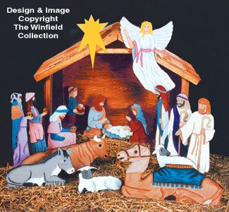 61401c5c97000 Nativity Scene Patterns 1 3 Life-Size