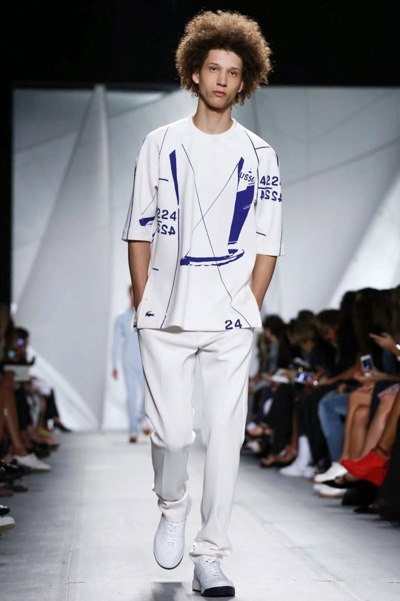 #Lacoste #Spring/Summer2015 - New York Fashion Week
