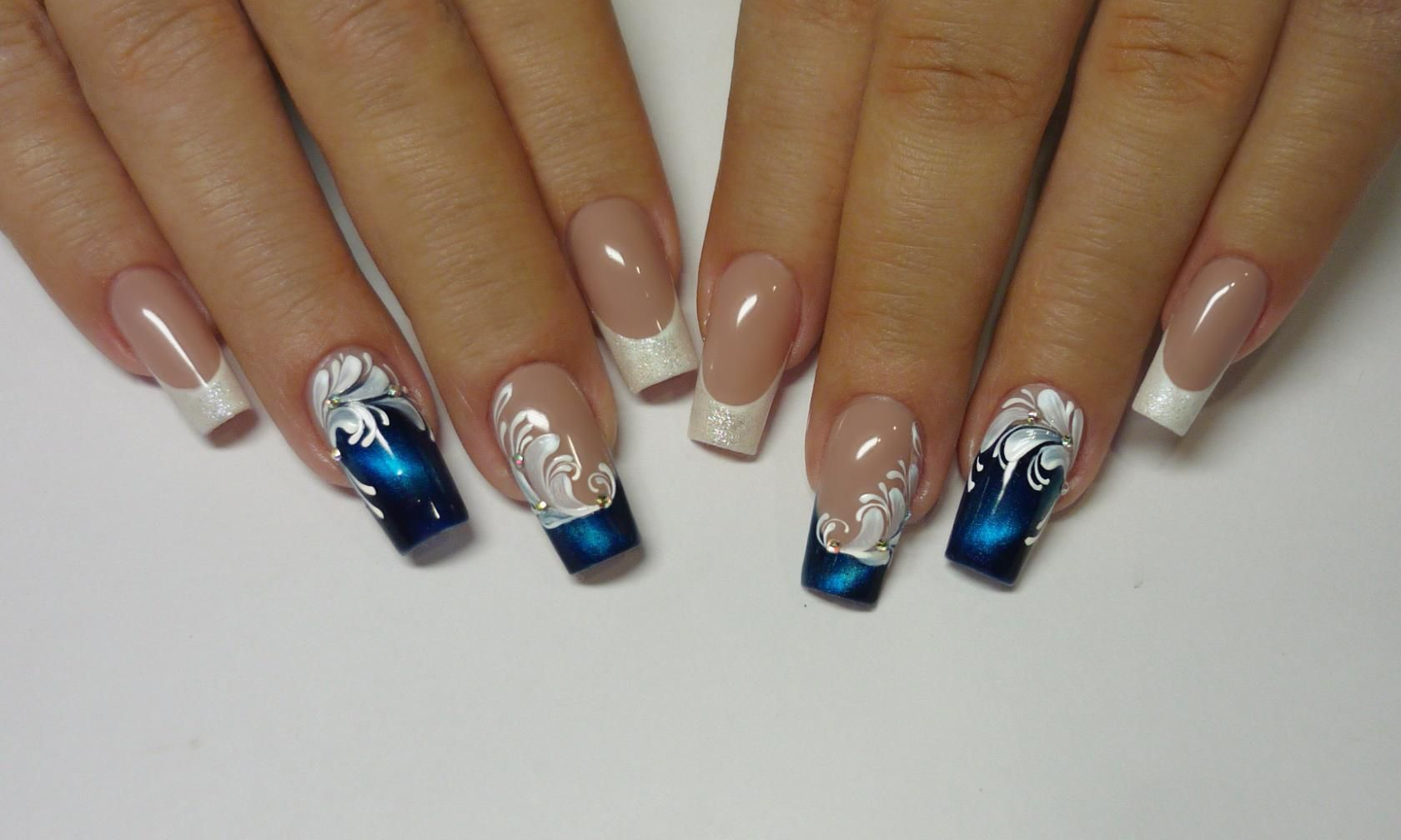 Фотография | Nails | Pinterest | French nails, Manicure and Art nails