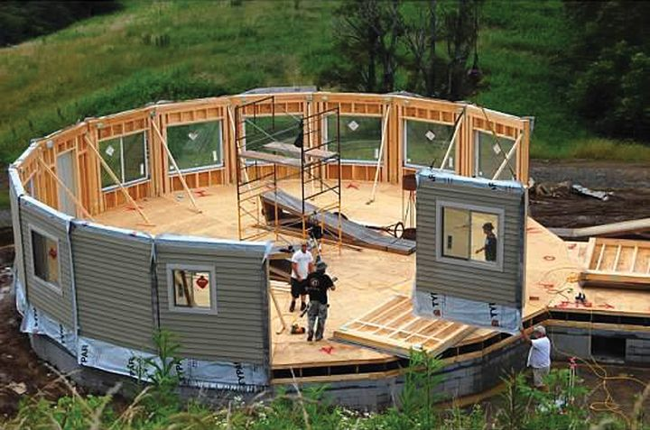 Panelized homes easy yurts and tiny houses for Tiny house kits california