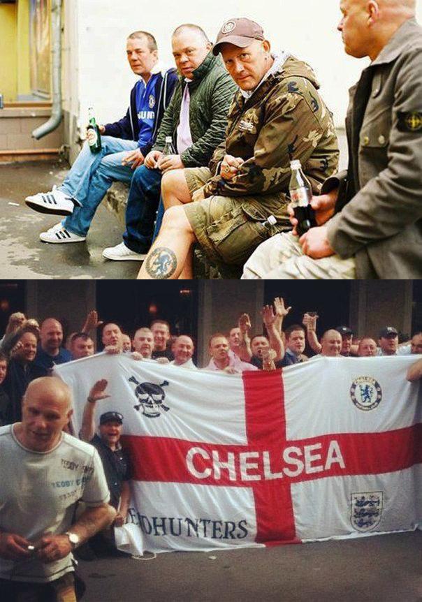 Pin on British fans