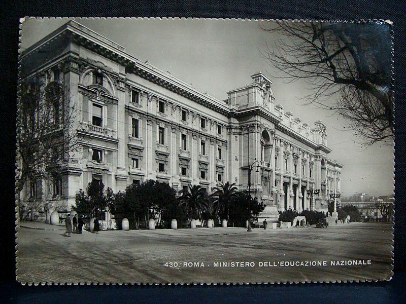 Ministero Educazione Nazionale_Roma