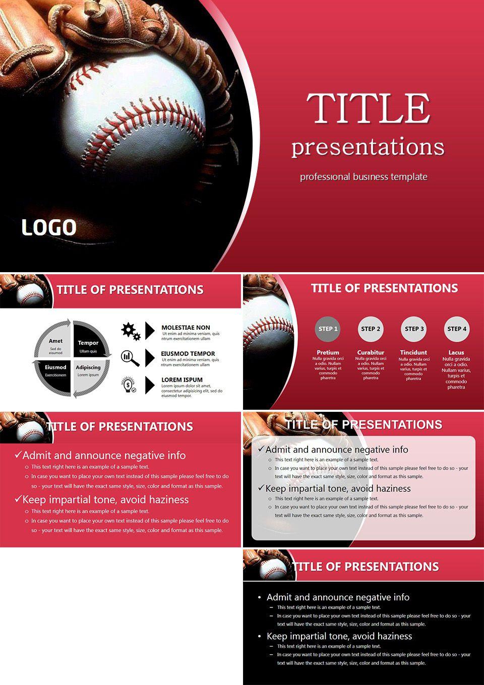 style baseball powerpoint templates baseball templates baseball