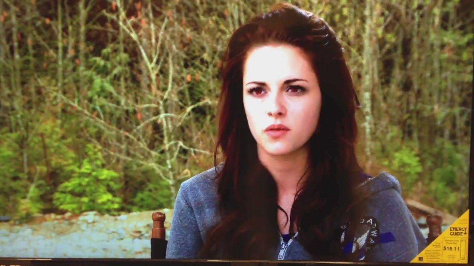 Kristen Stewart le da vida nuevamente a Bella pero esta vez como vampiro - BTS BDp2 -