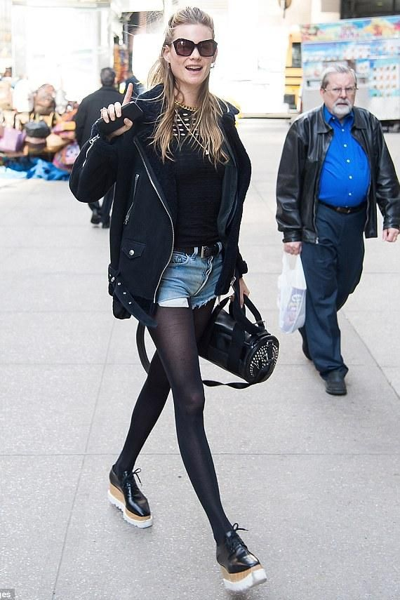 Behati Prinsloo wearing Elizabeth and James Bond Sunglasses, Stella  McCartney Elyse Shoes and Acne More 23a9a2c846a7