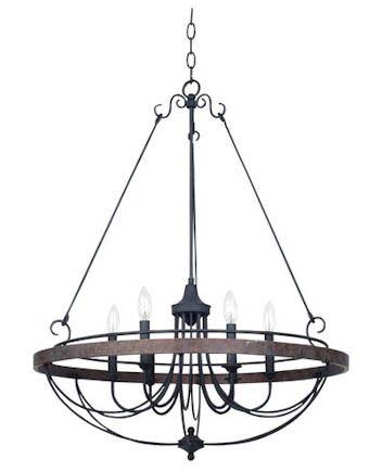 iron 6 light chandelier chandeliers pinterest chandeliers