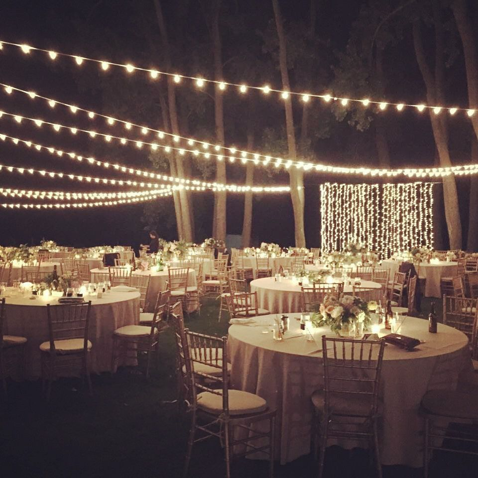 2016 Wedding Trend Lighting