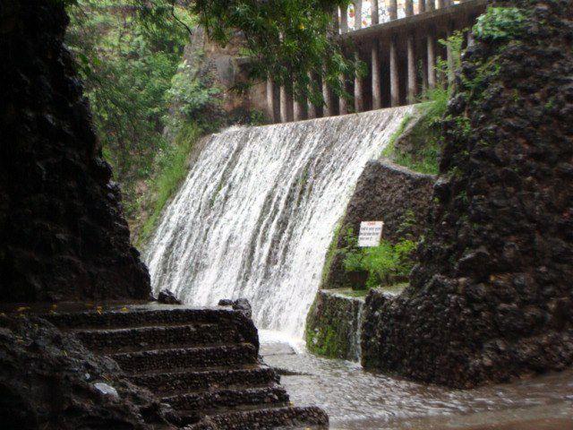 Chandigarh Rock Garden Water Fall Hd Wallpaper Rock Garden