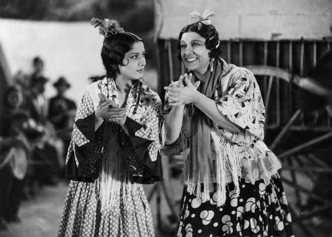 Carmenamaya En La Película María De La O De 1936 Flamenco Carmen Amaya People Of The World
