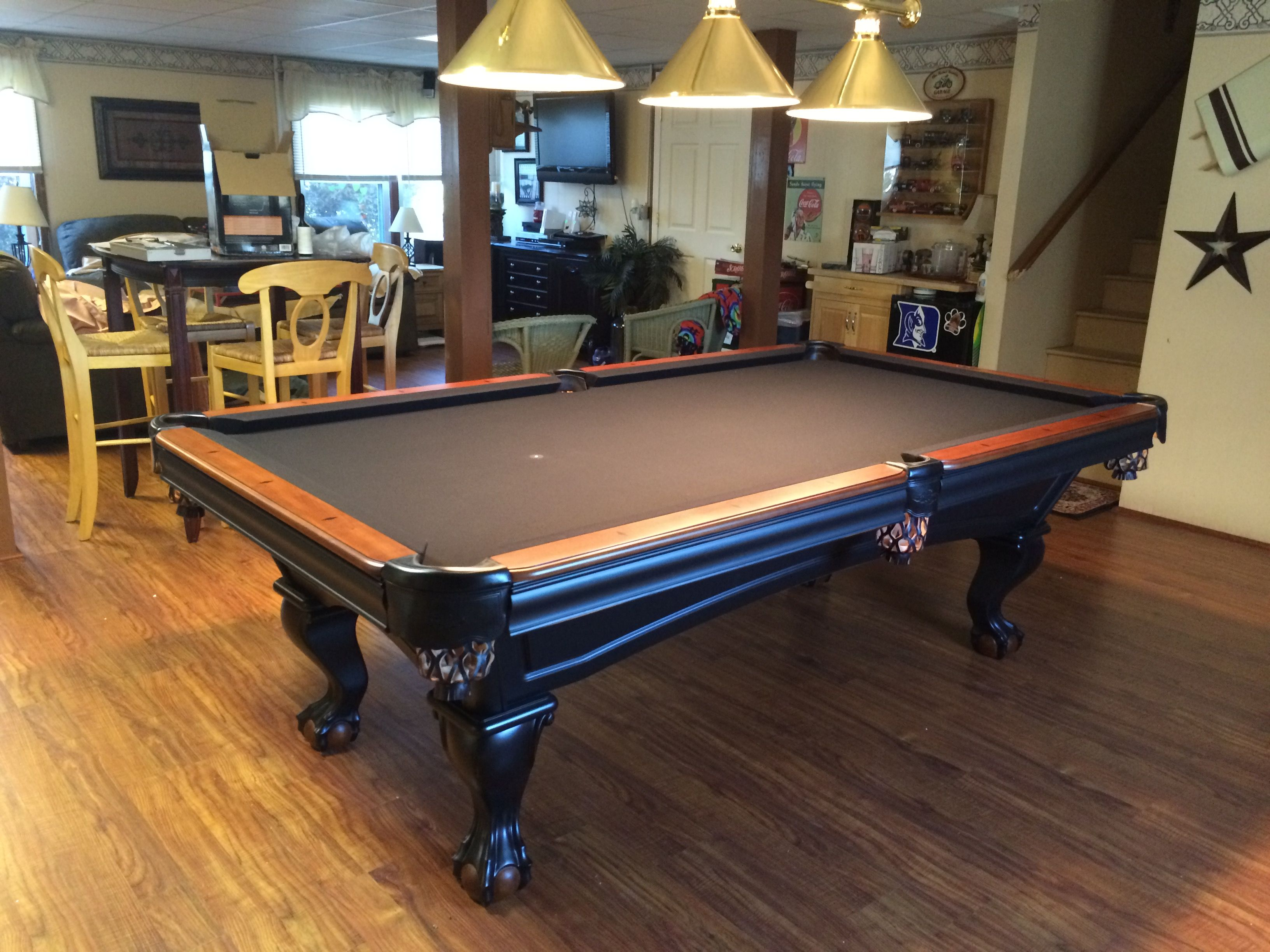 Folding legs pool table for sale - Brunswick Glenwood 2 Tone Pool Table Http Everythingbilliards Net Shop