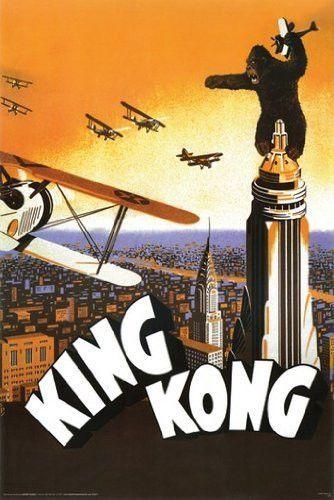 KING KONG MOVIE POSTER Rare Hot New 24x36