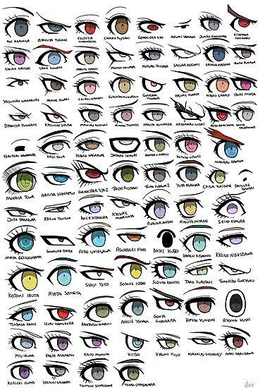 Danganronpa Eyes Photographic Print by Quixilvrr
