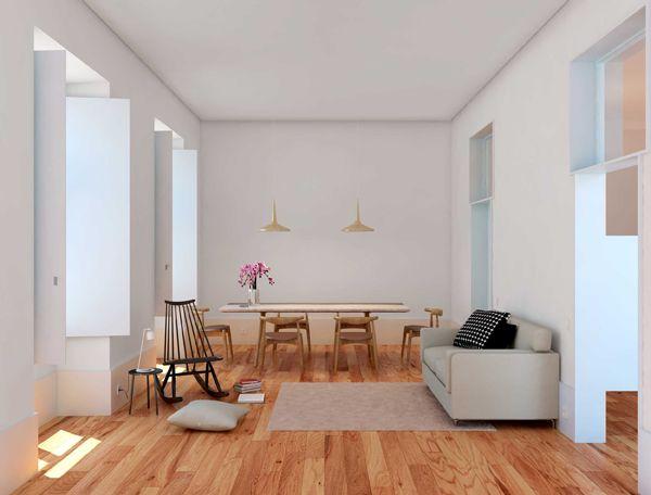 3 Apartamentos Pombalinos | AURORA ARQUITECTOS