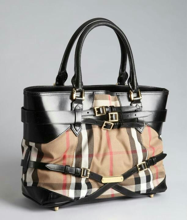 fde598f5bd3f Burberry Bag...brown.black.perfect.