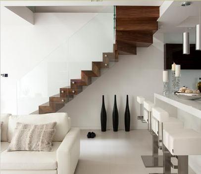 Escalera espacio reducido | para subir al cielo | Pinterest