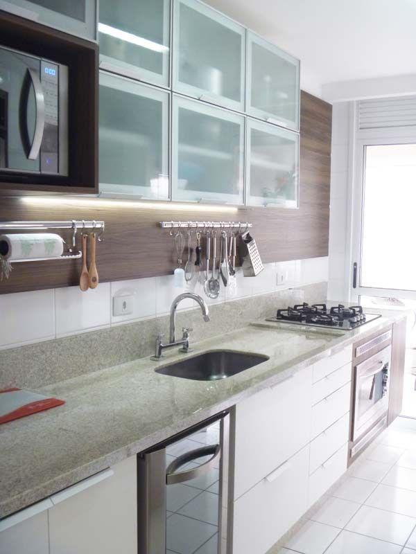 Apartamentos pequenos 320 projetos de profissionais de for Cocina apartamento pequeno