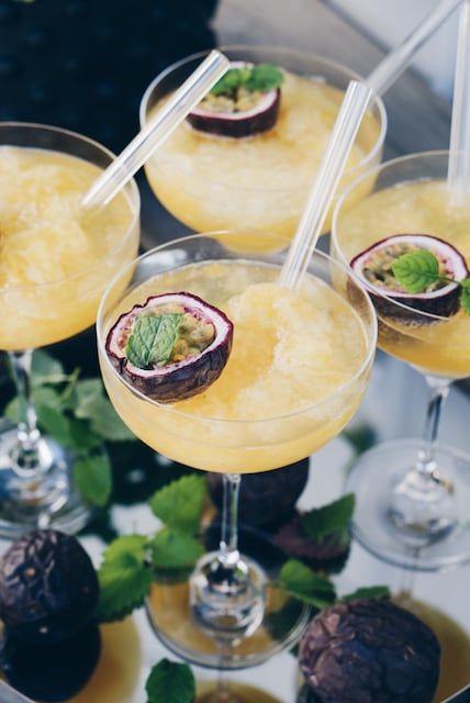 Passionfruktsslush, sommarens godaste drink! #tequiladrinks