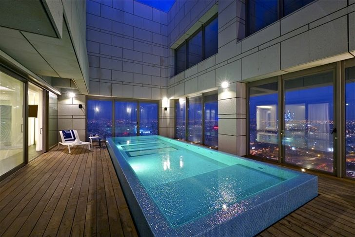 One of the best penthouses for sale ever floor nb - House with indoor swimming pool for sale ...