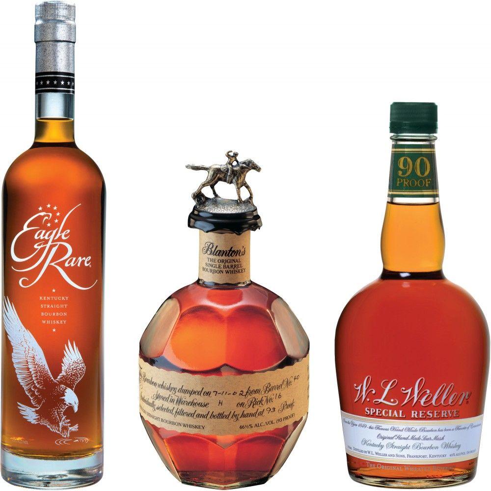 Blanton S Eagle Rare Weller Special Reserve Set Caskers Exclusive Single Barrels Jpg 1000 1000 Bourbon Wine Bottle Bottle