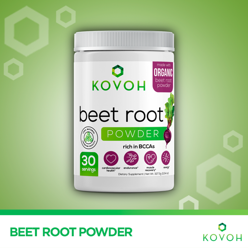 Kovoh S Pure Beet Root Powder Contains Several Essential Nutrients Antioxidants Vitamins And Minerals To Help Fight Oxidative Stre Beetroot Powder Beets Root
