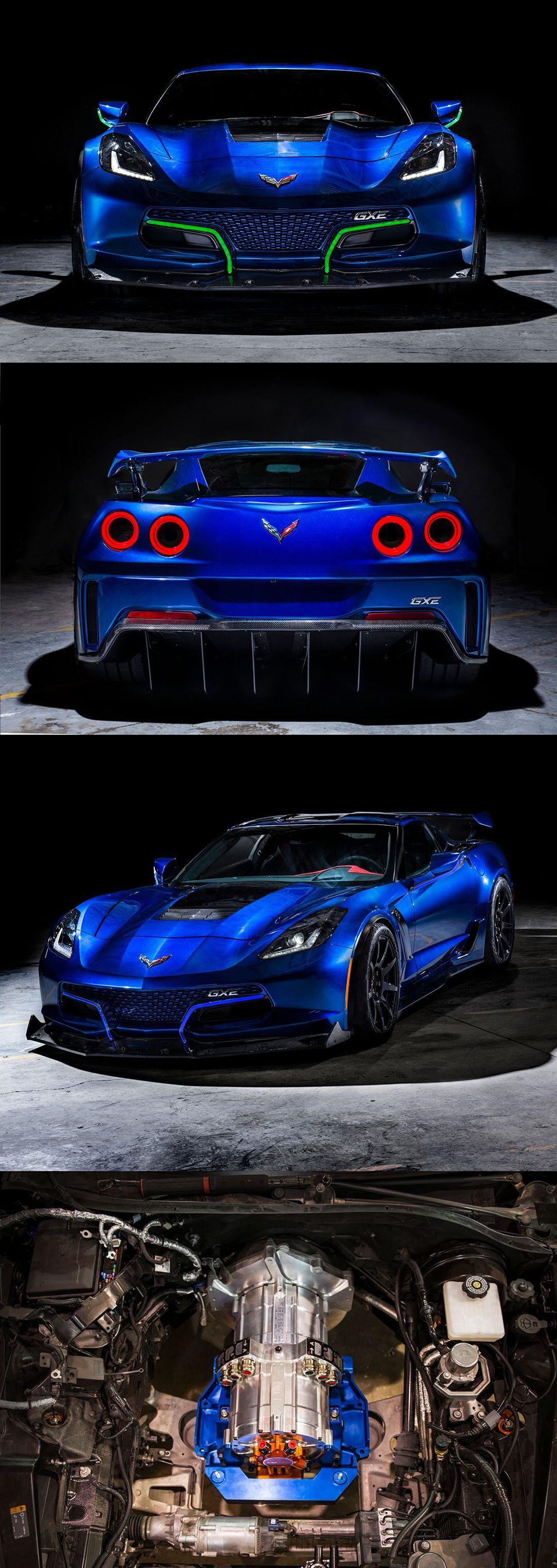 Genovation GXE Supercar All Electric Corvette 0 60 under 3 sec Top