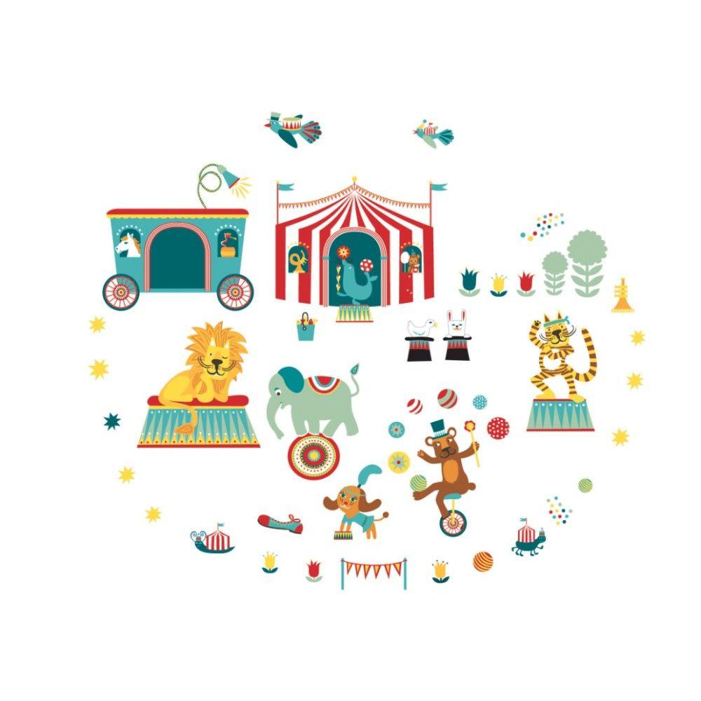 Wall Sticker Children Circus Anna Wand Design