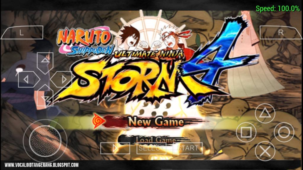 Naruto Shippuden Ultimate Ninja Storm 4 Apk Mod Amza Pinterest