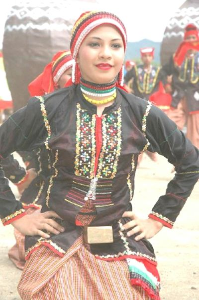 An Ethnic Dancer From The Town Of Siayan Philippines