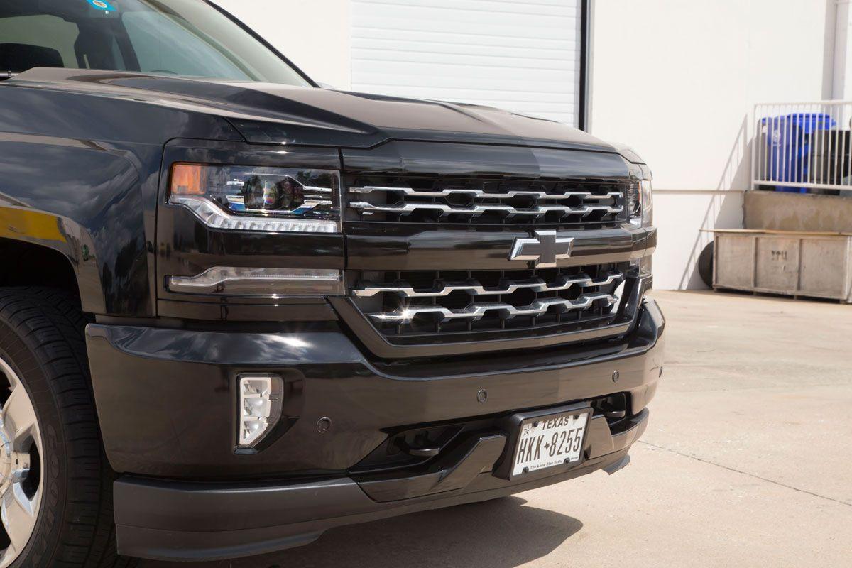 Silverado Chrome Black Out Car Wrap City (With images