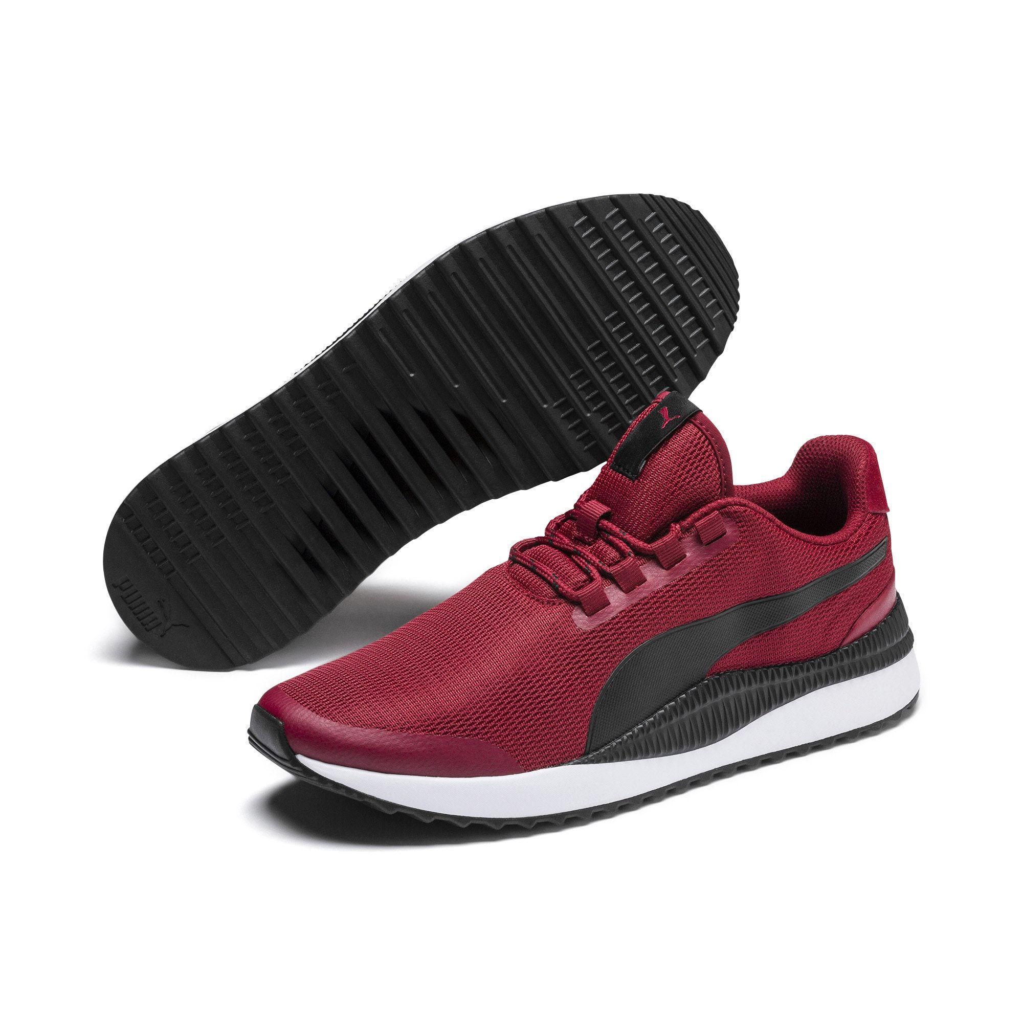 Puma Sneaker Pacer Next Fs Damen Dunkelrot Schwarz Grosse 44 5 Turnschuhe Kinder Sneaker Puma Sneaker