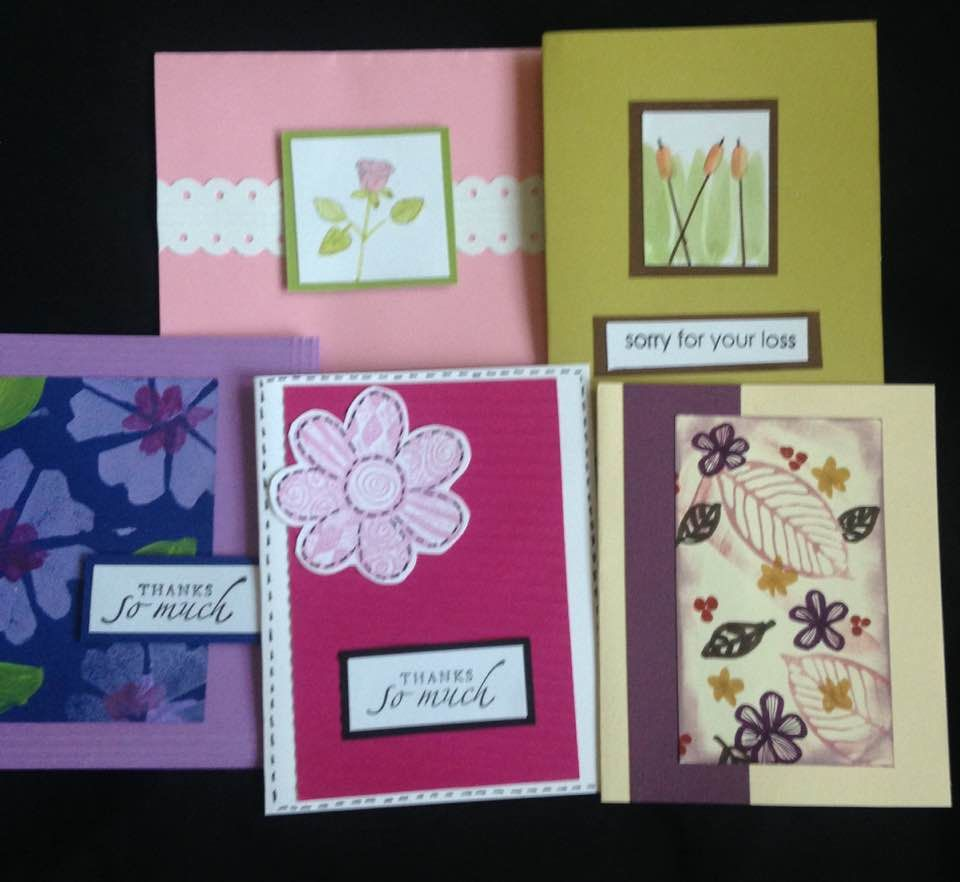 Just A Few Of My Assorted Cards That I Sell Online Http