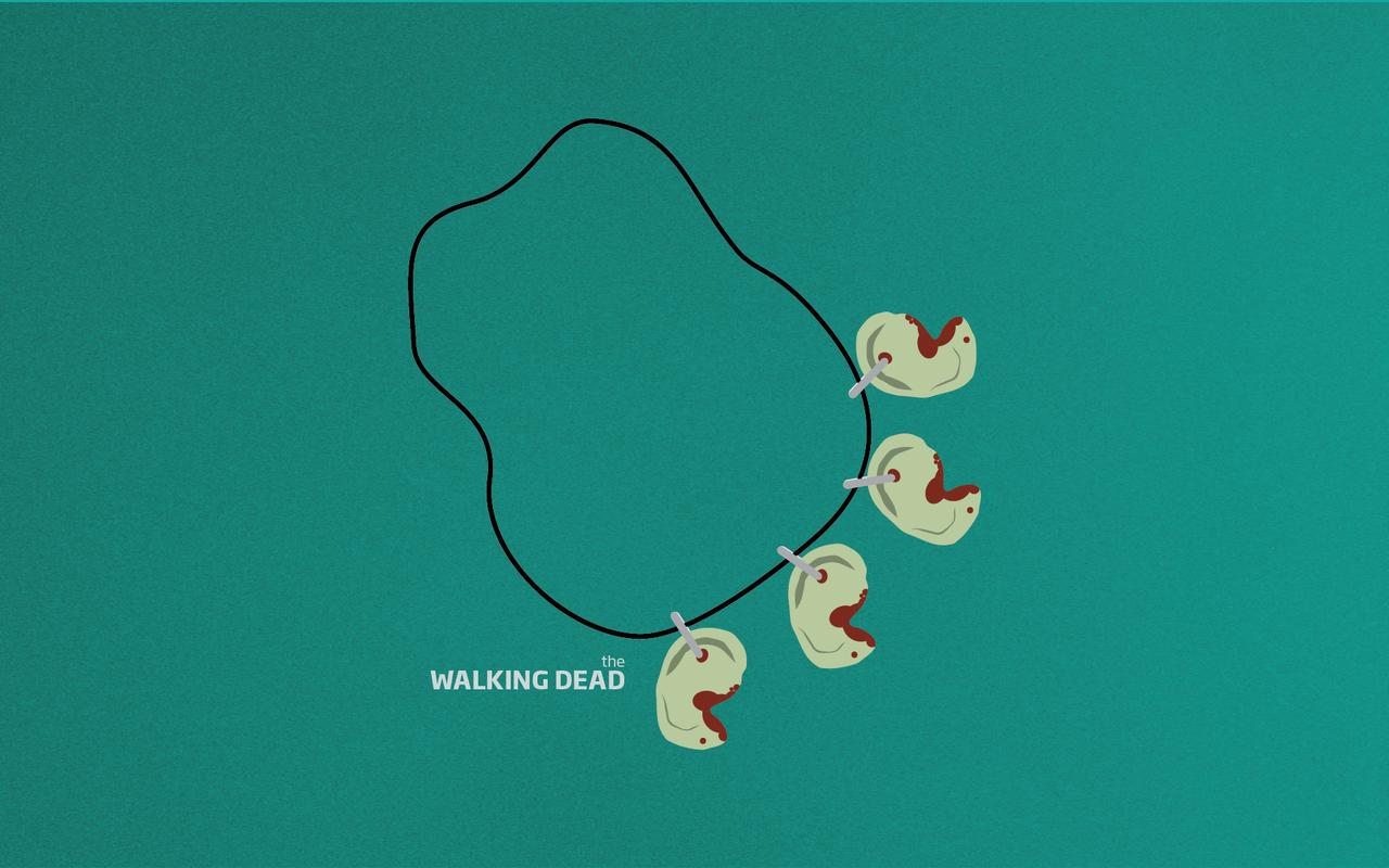 The Walking Dead Minimalism Wallpaper Widescreen By Chucklesmedia On Deviantart Wallpaper The Walking Dead Dead