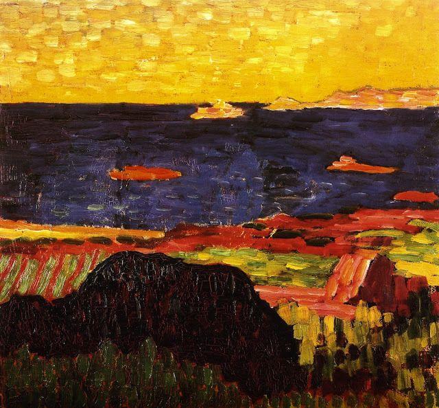 Mediterranean Coast By Alexei Jawlensky Art Poland Art Impressionist Art
