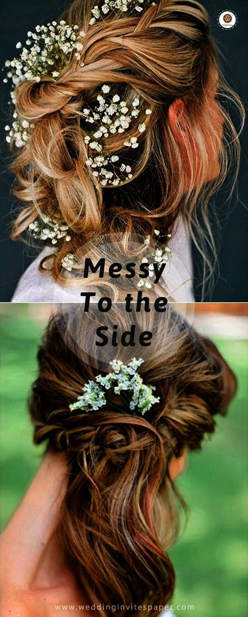 Hairstyles 17 Enchanted Rustic Wedding Hairstyles 17 Enchanted Rustic Wedding HairstylesLove natural styles Dont want to change yout curls to flat Want to make your 17 En...